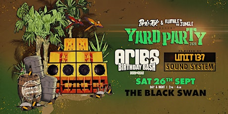 Aries Birthday Bash - Yard Party tickets