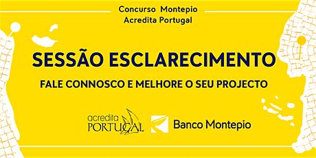 3ª Sessão de esclarecimento -  Acredita Portugal e CRON.STUDIO ingressos