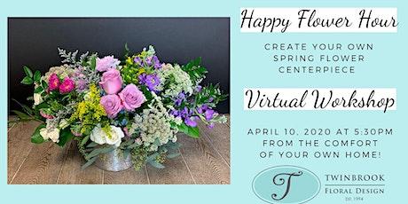 Virtual Happy Flower Hour tickets
