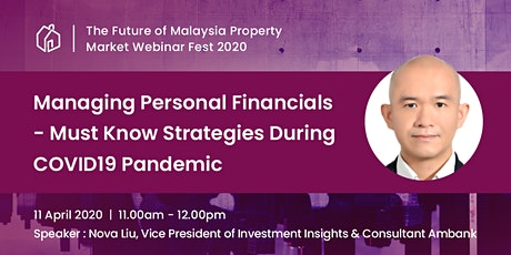 [WEBINAR] Managing Personal Financials- Must Know Strategies During Covid19 tickets