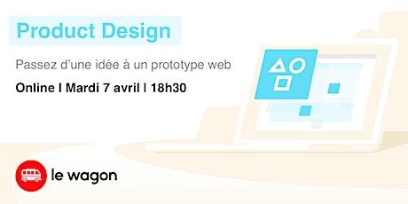 Webinar #2 - Prototypez votre projet !! billets