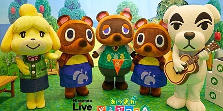 Animal Crossing: New Horizon Appreciation Day tickets