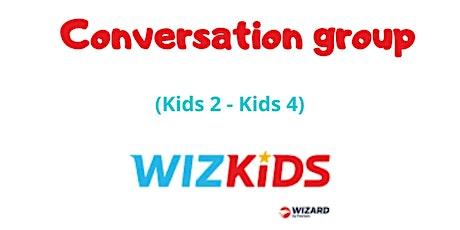 Grupo de conversação - KIDS 2 / KIDS 4 ingressos