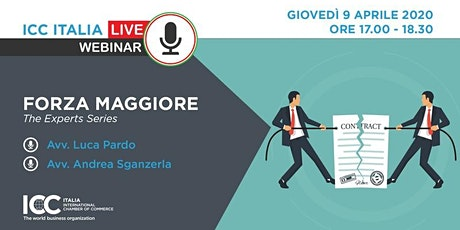 ICC Live Webinar | Forza Maggiore - The Experts Series tickets