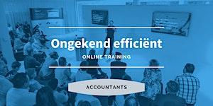 Accountant | Ongekend efficiënt