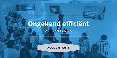 Accountant   Ongekend efficiënt tickets