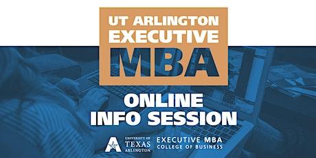 UTA Executive MBA - Online Meet & Greet tickets