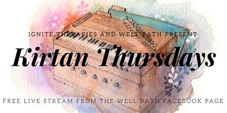 Kirtan (chanting) - Free online stream - Thursdays at 7.30pm tickets
