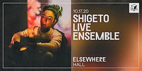Shigeto Live Ensemble @ Elsewhere (Hall) tickets