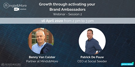 Webinar: Growth through activating your Brand Ambassadors tickets