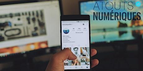 [Webinaire] Réseaux sociaux dans son métier | Atouts Numériques #2 tickets
