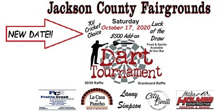 Jackson County Fairgrounds Dart Tournament tickets