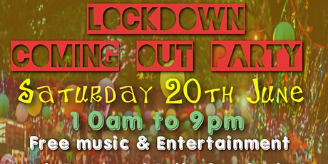 Lockdown Coming Out Party tickets