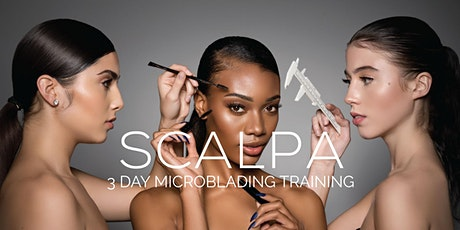 Microblading+Shading Training 3 Days|Deposit $500.00| Microblading Academy  tickets