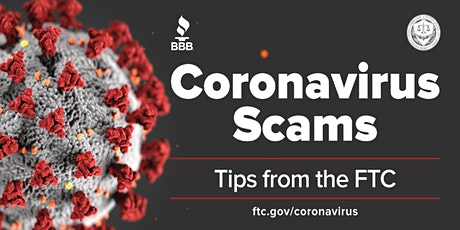 Webinar: Coronavirus Scams & Tips with the FTC tickets