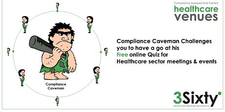 Compliance Caveman Challenge for Healthcare Meetings and Events tickets