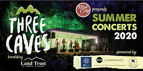 Concert at Three Caves tickets