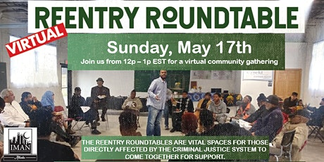 Virtual ReEntry Roundtable | May 17th tickets