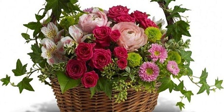 Blooms and Bubbly Spring Basket Virtual Flower workshop tickets