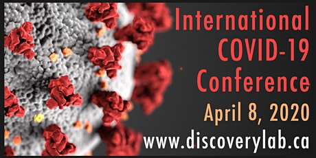 International COVID-19 WebConference 3 tickets
