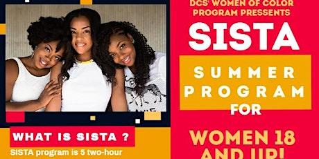 SISTA Summer Program tickets