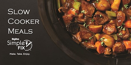 Simple Fix To-Go: Slow Cooker Meals tickets