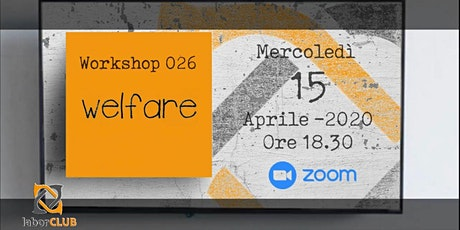 Workshop nr. 026: Welfare aziendale - panoramica e soluzioni… biglietti
