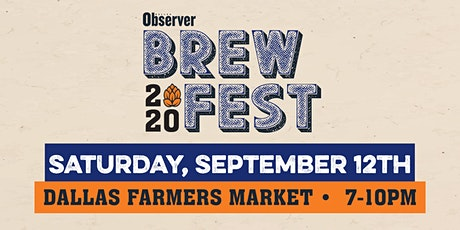 Dallas Observer BrewFest 2020 tickets