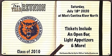 Evanston Class of 2010: Ten Year Reunion tickets