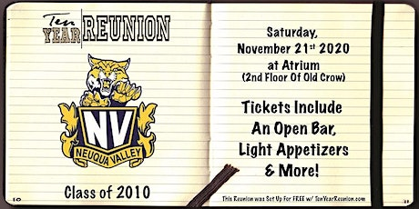 Neuqua Valley Class of 2010: Ten Year Reunion tickets