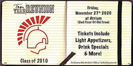 Deerfield Class of 2010: Ten Year Reunion tickets