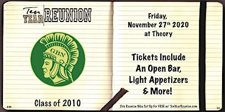 Glenbrook North Class of 2010: Ten Year Reunion tickets