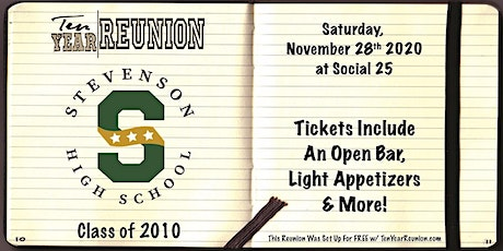 Stevenson Class of 2010: Ten Year Reunion tickets