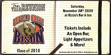 Buffalo Grove Class of 2010: Ten Year Reunion tickets