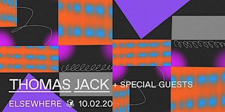 Thomas Jack @ Elsewhere (Hall) tickets