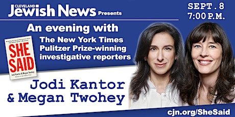 An Evening with Jodi Kantor & Megan Twohey tickets