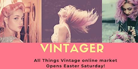 Vintager Online Vintage Market tickets