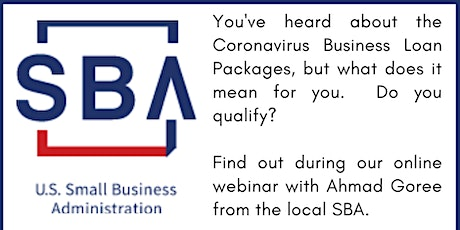 Do you qualify for the Coronavirus Business Loans? tickets