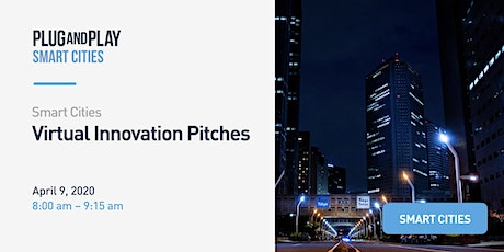 Smart Cities Virtual Innovation Pitches tickets