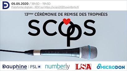 Cérémonie trophées SCOPS 2020 billets