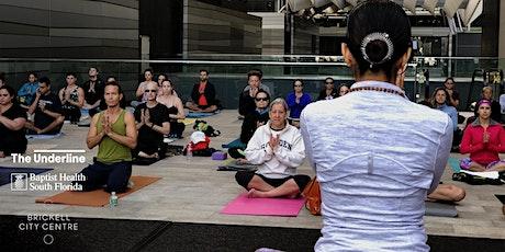 The Underline Power Hour Virtual Yoga tickets
