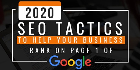 SEO Webinar: How to Rank On the First Page of Google in 2020 tickets