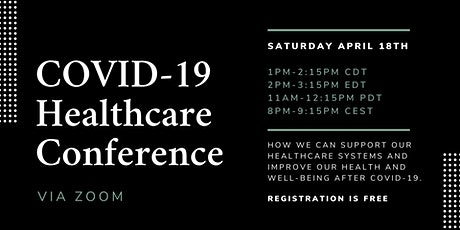 COVID-19 Online Healthcare Conference tickets