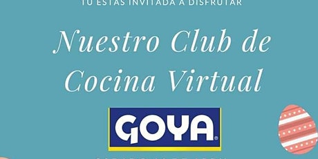 Club de Cocina Virtual de @Goya boletos