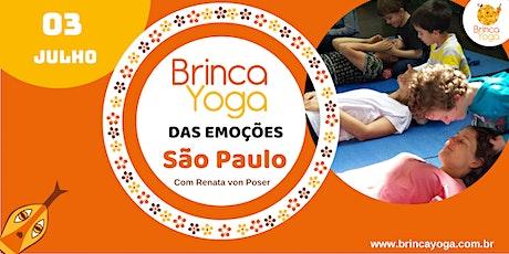 CURSO BrincaYoga das Emoções JULHO/2020 (SP) ingressos
