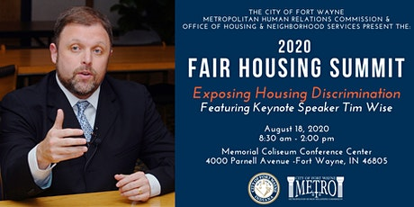 The 2020 Fair Housing Summit: Exposing Housing Discrimination tickets