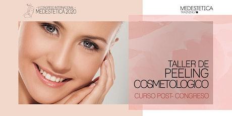 Taller de Peeling Cosmetológico entradas