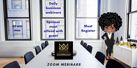 Learn How to Prosper in the CBD Industry (On Demand Webinar) tickets
