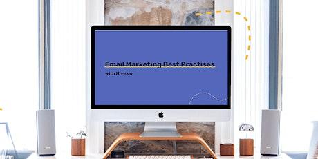 Email Marketing 101 Webinar (Free) tickets