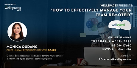 """""""How To Effectively Manage Your Team Remotely"""" tickets"""